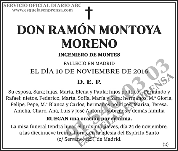 Ramón Montoya Moreno